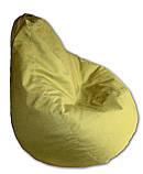 Салатовое кресло-мешок груша 120*90 см из микророгожки, фото 2