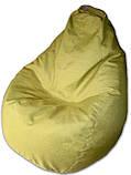 Салатовое кресло-мешок груша 120*90 см из микророгожки, фото 4