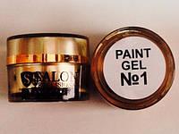 Гель краска для ногтей SP1 ярко белая