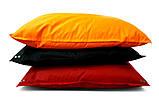 Красное кресло мешок подушка 120*140 см из ткани Оксфорд, кресло-мат, фото 2