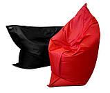 Черное кресло мешок подушка 120*140 см из ткани Оксфорд, кресло-мат, фото 2