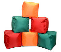 Пуфик кубик 35*35*35 см из ткани Оксфорд