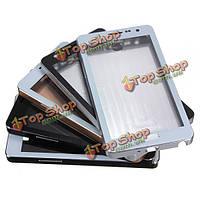 Алюминиевый сплав металла корпус пыленепроницаемый стекло для Samsung Galaxy Note 2 N7100