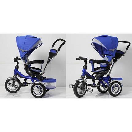 Детский трехколесный велосипед AIR арт.TR16002 синий , фото 2