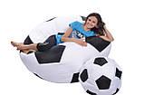 Кресло-мяч 130 см из ткани Оксфорд черно-белое, кресло-мешок мяч, фото 3
