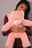 Розовый плюшевый мишка Тедди 60 см