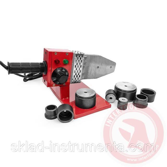 Паяльник для труб из PPR 20-63 мм, 800 Вт, 0-300°С, 230 В