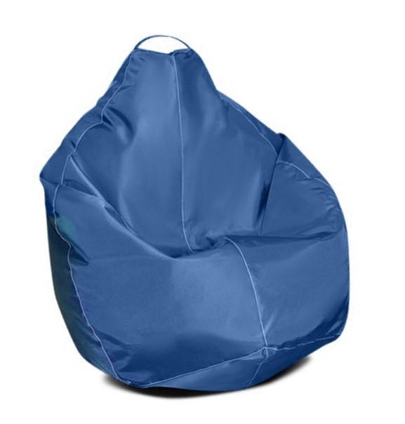 Бежевое кресло-мешок груша 100*75 см из ткани Оксфорд S-100*75 см, Синий