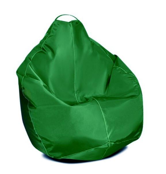 Оранжевое кресло-мешок груша 100*75 см из ткани Оксфорд S-100*75 см, Зеленый
