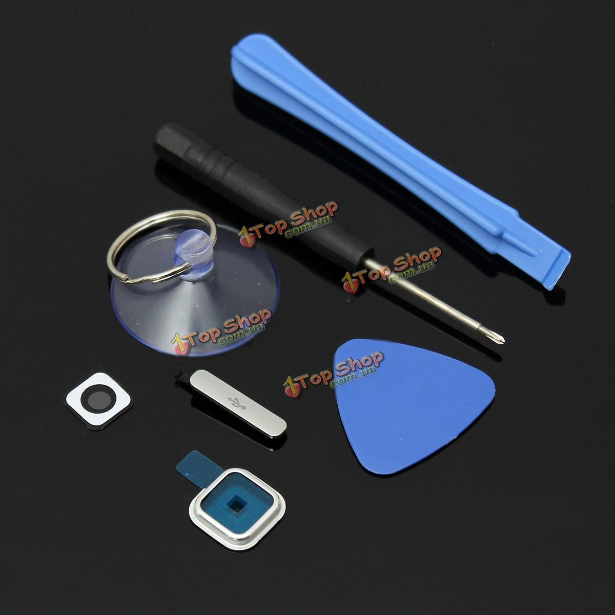 Камера крышка объектива+зарядное устройство порт чехол+инструмент для Samsung Galaxy S5 i9600 G900 ж