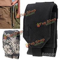 Универсальный армейский камуфляж портативная сумка Waist пакет мешок для мобильного телефона