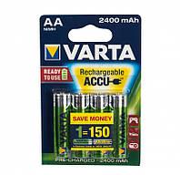 Аккумулятор VARTA R2U AA 2400mAh