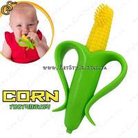 """Детский прорезыватель (грызунок) - """"Corn Toothbrush"""" , фото 1"""