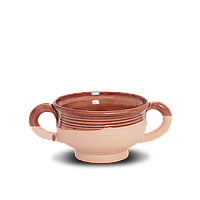 Бульонница глиняная Gloss CF05 Покутская керамика  0,25 литра