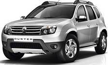 Защита заднего бампера на Dacia Duster