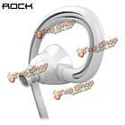 ROCK rau0510 циркон Sport вкладыши стерео тяжелый бас наушники с микрофоном, фото 6