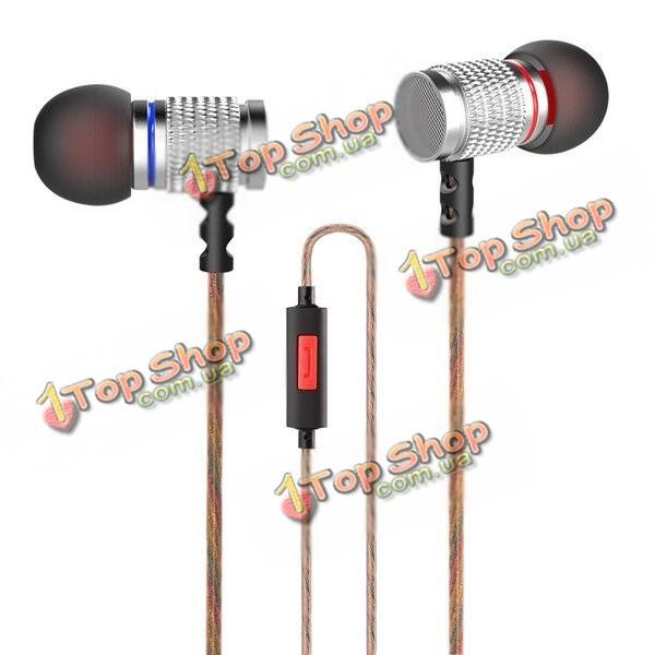 KZ EDR2 металла тяжелый бас в наушники вкладыши Clear звук музыки для наушников с микрофоном