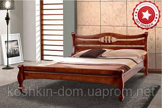 Ліжко двоспальне Динара 160*200 масив сосни