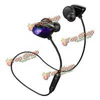 Sport стерео анти-пот в ухе проводной управления беспроводной Bluetooth  наушники T800 ара