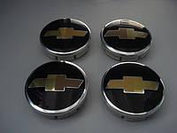 заглушки дисков 55мм chevrolet