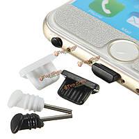 Универсальный 3.5мм наушник чистит штепсель и покрытие штепселя пыли порта смартфон micro-USB