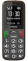 "Моноблок бабушкофон Sigma mobile Comfort 50 Mini3, 2 SIM-карты, экран 1.77"""