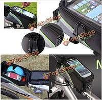 4.8-дюймов Roswheel велосипед рама сумка для мобильного телефона GPS