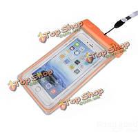 Водонепроницаемый подводный сухой мешок запечатанном чехол для мобильного телефона