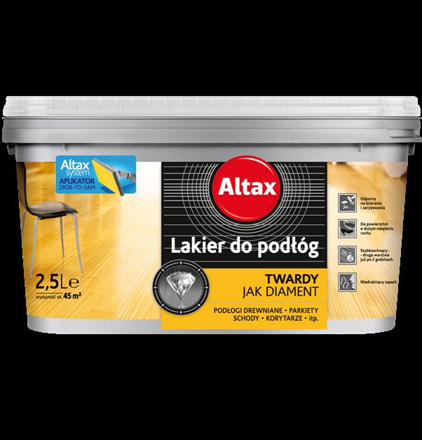 Лак для пола Altax 2,5 л (Твердый как алмаз)