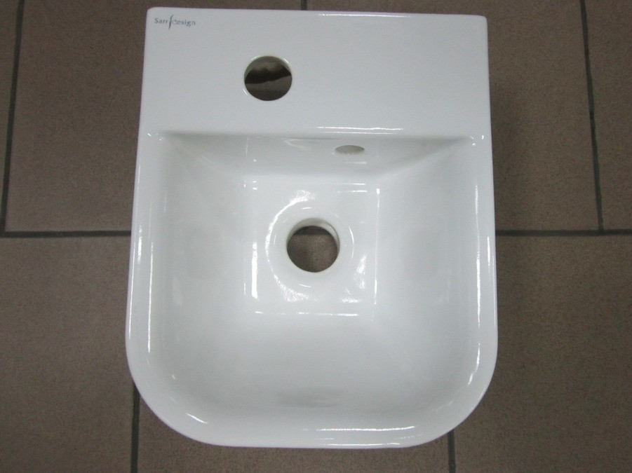 Умывальник керамический  Sarreguemines LM Sarr 260x310x140