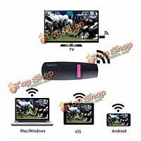 Ezcast поддержка AirPlay DLNA Miracast для HDMI Tv Палка GGmm v-линкер TV 2.4G iOS iMac Андроид