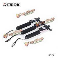 ReMax Mini выдвижной проводной палка для селфи монопод для Samsung Xiaomi SONY LG