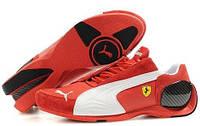 Мужские кроссовки Puma Ferrari (Пума Феррари) красные