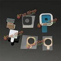 Задняя камера заднего стекло гибкий кабель крышка объектива для Samsung Galaxy i9600 s5 С. g900