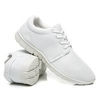 Женские кроссовки белые для фитнеса (беговые)