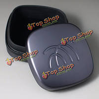 TF10 универсальный алюминиевый полный металл линия наушника мешок Carring коробка кейс для хранения наушников наушников