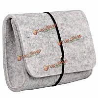 CrazyHorse D-park сотовый телефон сумка цифровых аксессуаров для хранения PowerBank кабель зарядного устройства для наушников