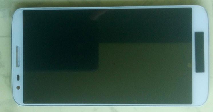 Дисплей модуль LG D802 D805 G2 в зборі з тачскріном, білий