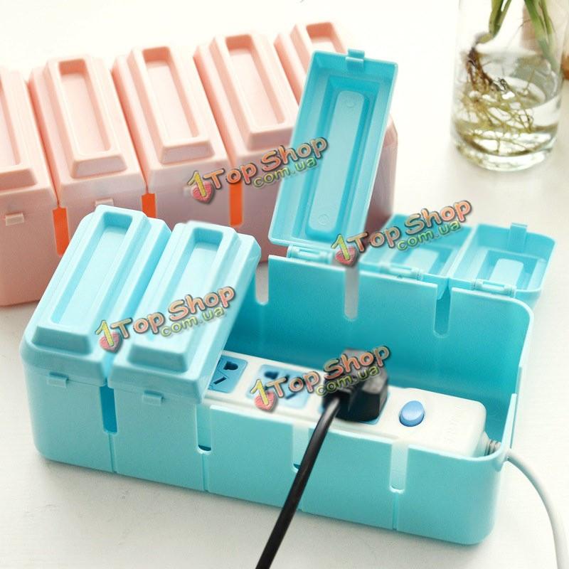 Шоколад форма цвет разветвитель питания расположение коробки ящик для хранения кабеля