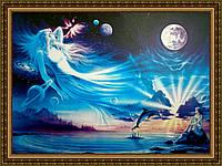 Картина в багетной раме Парад планет 200х240мм №504