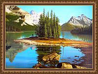 Картина в багетной раме Канадский парк 200х240мм №316