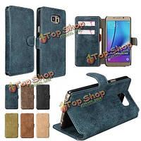 Mohoo ретро искусственная кожа Flip бумажник Card Case стендов на Samsung Galaxy Note 5