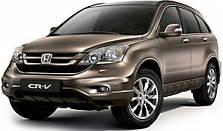 Защита заднего бампера на Honda CRV (2006-2013)