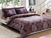 Постельное белье Тас сатин делюкс Pavona V7 фиолетовое семейное
