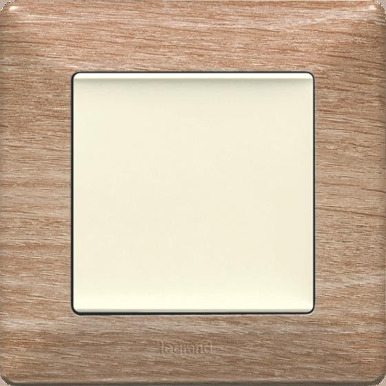 Рамка 1 пост. Светлое дерево, Legrand Valena Life 754181