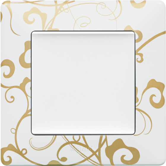 Рамка 1 пост. Ампир белый, Legrand Valena Life 754101