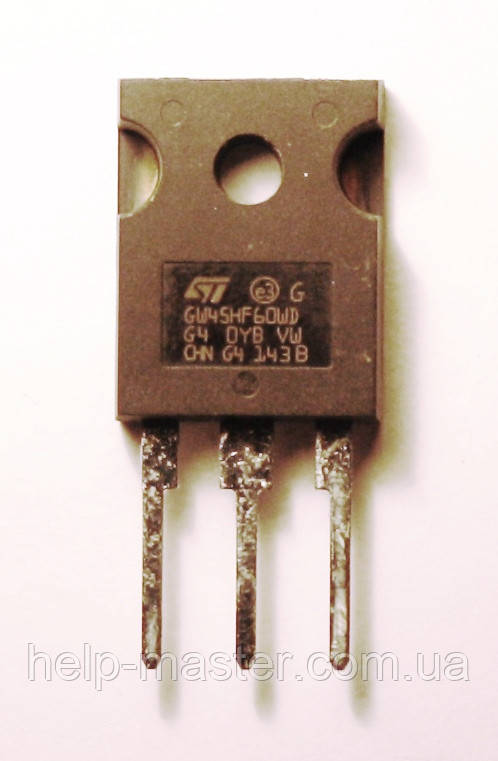 Транзистор STGW45HF60WD (TO-247).
