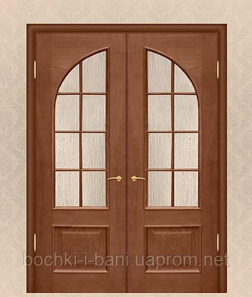 Двери двойные межкомнатные из массива ольхи, фото 2