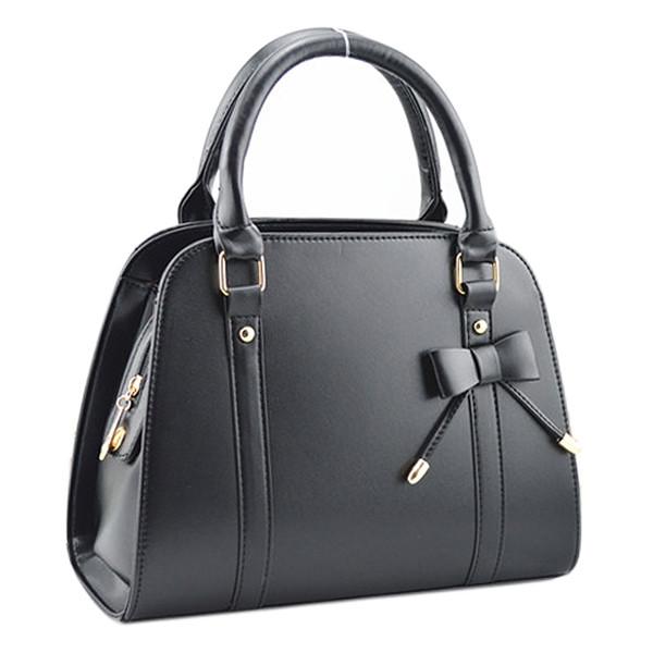 d9d1b61db40e Женская кожаная сумка с короткими ручками. Сумка с бантиком. Хорошее  качество