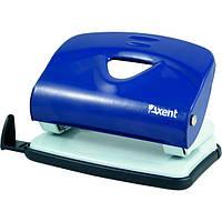 Дырокол Axent Exakt-2 металлический, 20 листов, синий 3920-02-A